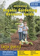 Receive  a FREE copy of Australian Organic Gardening Resource Guide